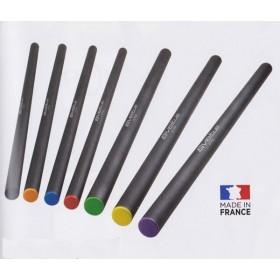 Barre acier lestée - Longueur 120 cm