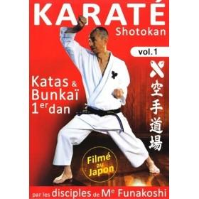 Karaté Shotokan par les disciples de G. Funakoshi - Kata & Bunkaï 1er Dan - Vol.1 (DVD)