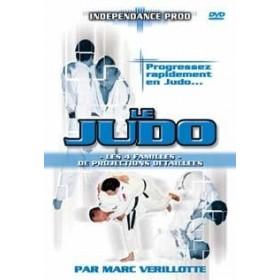 Le judo : les 4 familles de projections détaillées - Marc Verillotte (DVD)