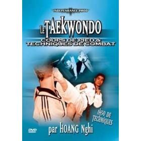 Taekwondo : coups de pied & techniques de combat - H. Nghi (DVD)