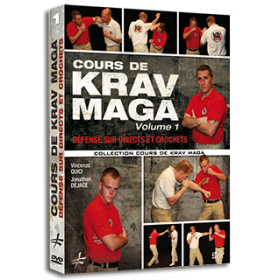 Cours de Krav Maga Vol. 1 - Défense sur directs et crochets (DVD)