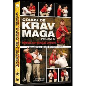 Cours de Krav Maga Vol. 5 - Défense sur menaces couteau (DVD)