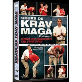 Cours de Krav Maga Vol. 6 - Défense sur étranglements avec l'avant-bras (DVD)