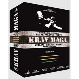Coffret Krav Maga : ceinture jaune, orange, verte (3 DVD)