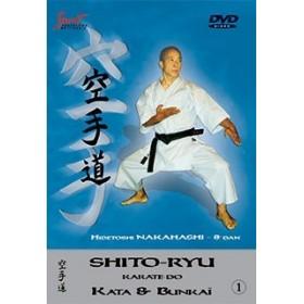 Hidetoshi Nakahashi - Kata & Bunkaï Shito-ryu - Vol. 1 (DVD)