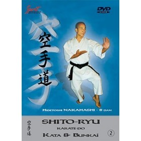 Hidetoshi Nakahashi - Kata & Bunkaï Shito-ryu - Vol. 2 (DVD)