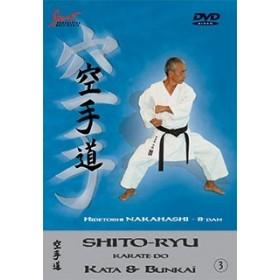 Hidetoshi Nakahashi - Kata & Bunkaï Shito-ryu - Vol. 3 (DVD)