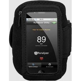 Runalyzer : Brassard pour IPhone 5 ou IPhone 4S/4/3 et IPod