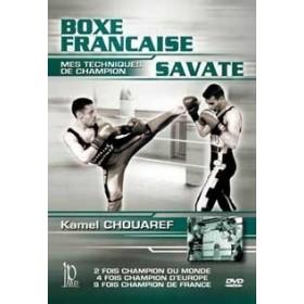 Savate : mes techniques de champion - K. Chouaref (DVD)