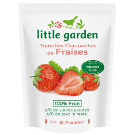 Tranches craquantes 100% fruits (Lot de 3 sachets)