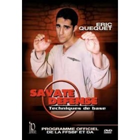 Savate Défense : techniques de base - Eric Quequet (DVD)
