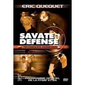 Savate Défense : techniques avancées - Eric Quequet (DVD)