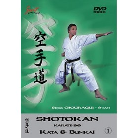 Serge Chouraqui - Kata & Bunkaï Shotokan - Vol. 1 (DVD)