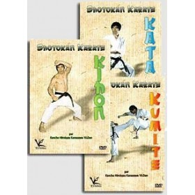 Karaté Shotokan - Les 3 DVD Hirokazu Kanazawa
