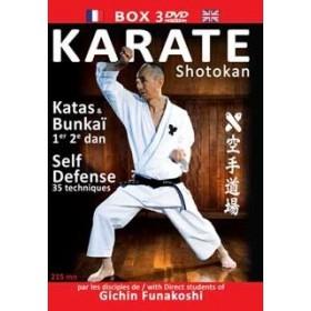 Karaté Shotokan par les disciples de Gichin Funakoshi - Coffret 3 DVD