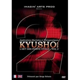 Kyusho Waza - Les points vitaux - S. Rebois - Vol.2 (DVD)