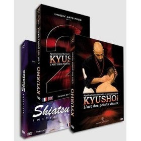 Kyusho Waza & Shiatsu - Pack 3 DVD