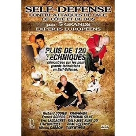 Self Défense - Contre-attaques de face, de côté et de dos (DVD)