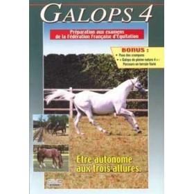Galops 4 - Être autonome aux trois allures pour mieux progresser (DVD)