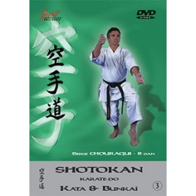 Serge Chouraqui - Kata & Bunkaï Shotokan - Vol. 3 (DVD)