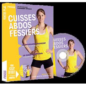 Cuisses Abdos Fessiers - Astrid Verhelst (Livre + DVD)