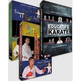Enseigner les Arts Martiaux - Pack 3 DVD