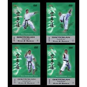Shotokan - S. Chouraqui - Offre collection 4 DVD