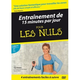 Entraînement de 15 minutes par jour pour Les Nuls (DVD)