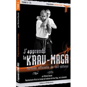 J'apprends le Krav-Maga - Tome 2 - Programme ceinture orange - R. Douieb (Livre)