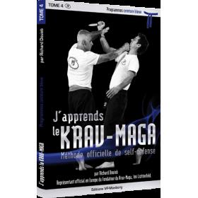J'apprends le Krav-Maga - Tome 4 - Programme ceinture bleue - R. Douieb (Livre)