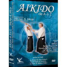 Aikido de A à Z Aiki-Ken & Aiki-Jo (DVD)
