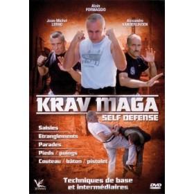 Krav Maga - Bases et intermédiaire - Alain Formaggio (DVD)