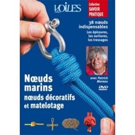 Noeuds marins, noeuds décoratifs et matelotage (DVD)