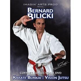 Karate Jutsu - Coffret collector 4 DVD - Bernard Bilicki