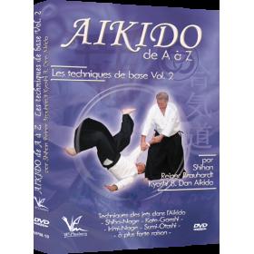 Aikido de A à Z : Techniques de base Vol. 2 (DVD)