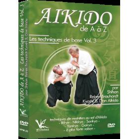 Aikido de A à Z : Techniques de base Vol. 3 (DVD)