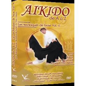 Aikido de A à Z : Techniques de base Vol. 4 (DVD)