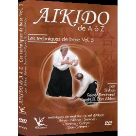 Aikido de A à Z : Techniques de base Vol. 5 (DVD)