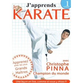 J'apprends le Karaté Vol. 1 - Christophe Pinna (DVD)