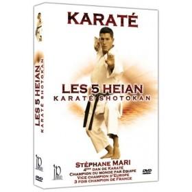 Les 5 Heian - Karaté Shotokan - Stéphane Mari (DVD)