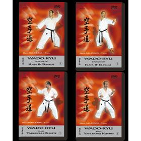 Hiroji Fukazawa - Kata & Bunkaï & Kumité - Collection 4 DVD