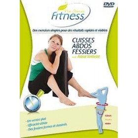 No Stress Fitness : Cuisses Abdos Fessiers (DVD)