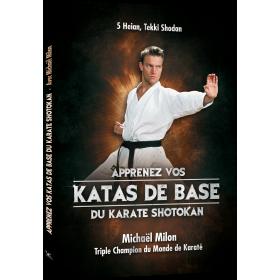 Les Katas de base du Karaté Shotokan - Michaël Milon (Livre)