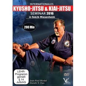 Kyusho-Jitsu & Kiai-Jitsu - Seminaire 2016 - J.P. Bindel