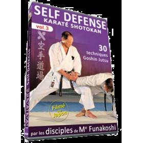 Karaté Shotokan par les disciples de G. Funakoshi - Self Defense - Vol.3 (DVD)