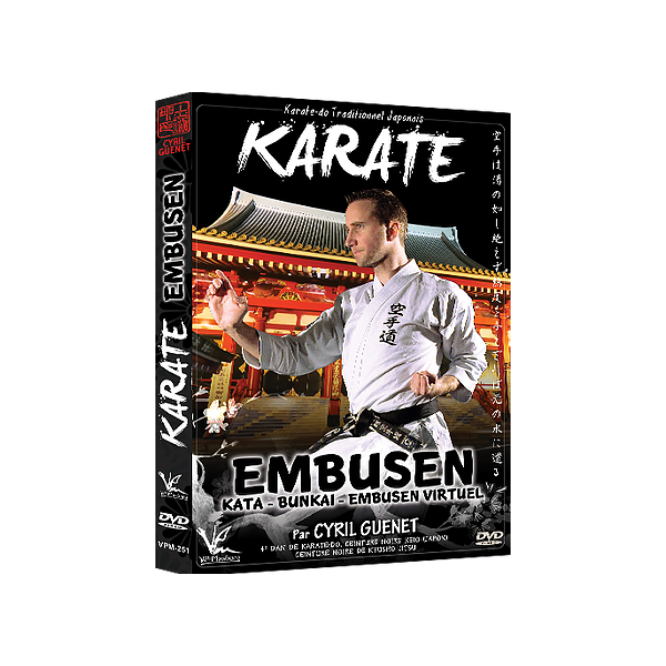 Karaté Embusen - Kata - Bunkai - Embusen Virtuel - Cyril Guenet (DVD)