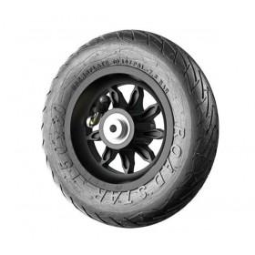 Roue de rechange 6x1/4 9SB-RS noire avec pneu Road Star (150x30 mm)