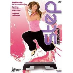 Fitness Challenge : Step débutant - Jessica Mellet (DVD)