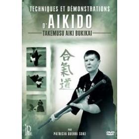 Patricia Guerri - Techniques et démonstrations d'Aïkido (DVD)