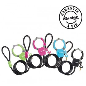 Menottes cable Master Lock